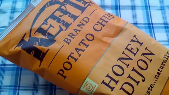 アイハーブで買ったケトルチップスのハニーマスタード味
