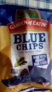 アイハーブで買った青いチップス トルティーヤチップス