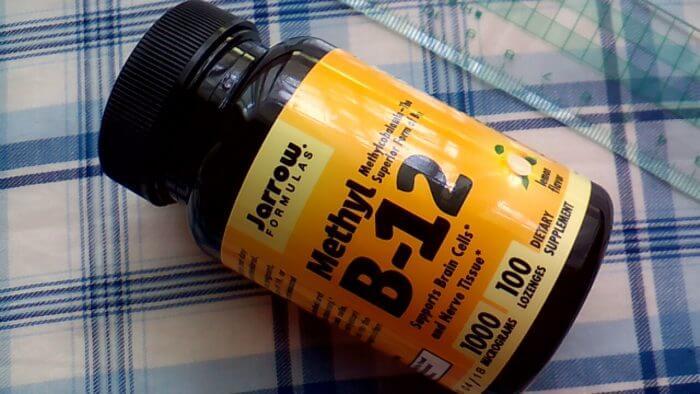 アイハーブで買ったJarrow Formulasのメチル B-12