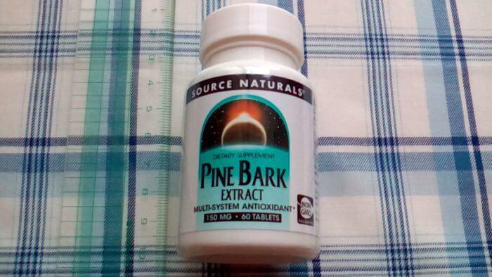 アイハーブで買ってみたSource Naturalsのパインバークエキス(松樹皮エキス)