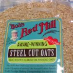 アイハーブのBob's Red Millのスチールカットオートミールはぷちぷち食感でとても美味しいけれど調理が少し面倒です。