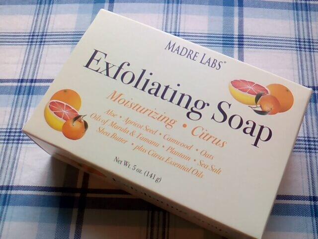 アイハーブのお試し品で買ってみた石鹸 Exfoliating Soap