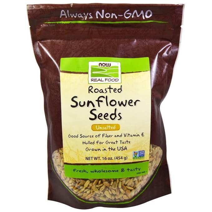 アイハーブのNow Foodsのヒマワリの種