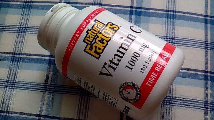Natural Factors, ビタミンC、タイムリリース、1000 mg、180錠