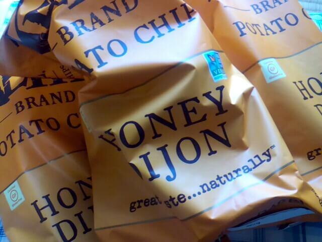 アイハーブで買ったケトルチップのハニーディジョン味