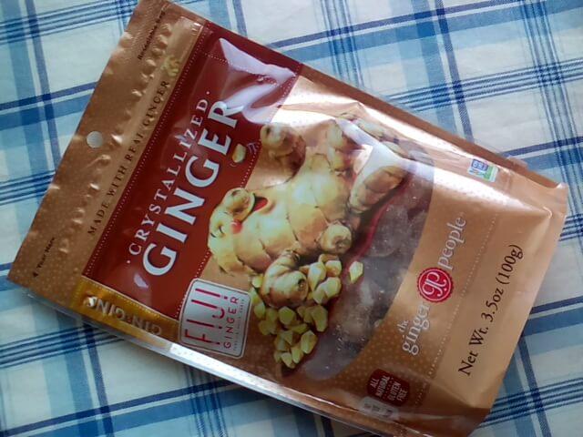 アイハーブで買ってみたThe Ginger People, Gin·Gins、結晶化ショウガ、3.5 oz (100 g)