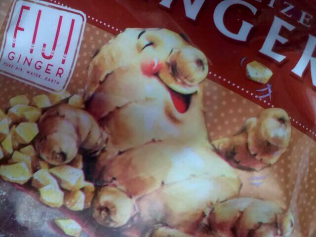 アイハーブで買ってみたThe Ginger People, Gin·Gins、結晶化ショウガ、3.5 oz (100 g)のキャラクター