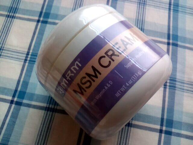 アイハーブで買ったMRM, MSM クリーム, 4 oz