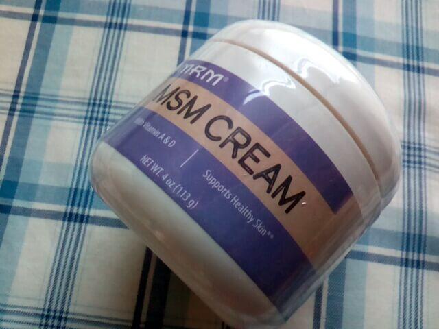 アイハーブで買ったMSMクリーム