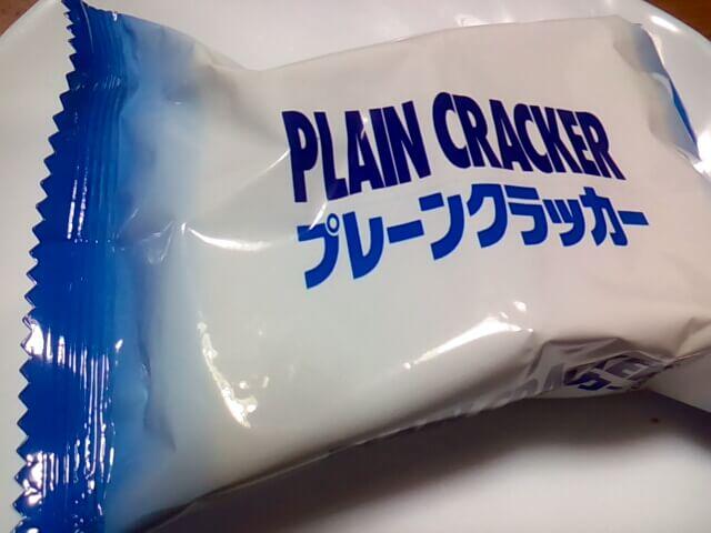 ダイソーのプレーンクラッカーの小袋