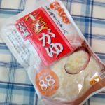 業務スーパーで買ってみた中華風 生姜がゆ はなるほどめっちゃ生姜風味です!とても生姜です。