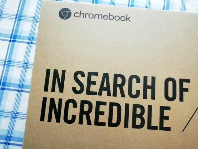 ChromebookのC202SAの箱