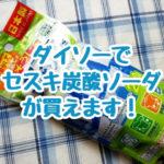 100均ダイソーのセスキ炭酸ソーダはタンパク質汚れにめちゃ強いのです。お掃除にお洗濯にあると便利!重曹よりもっとアルカリ性です。