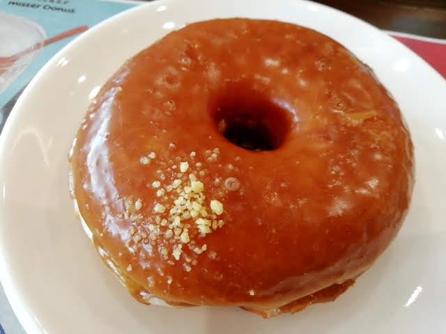 ミスタードーナッツのメープルリング