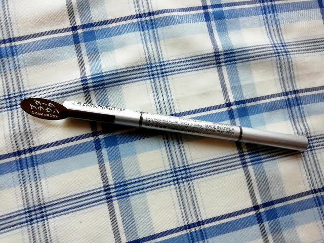 ダイソーのアイブローペンシル楕円芯ダークブラウン