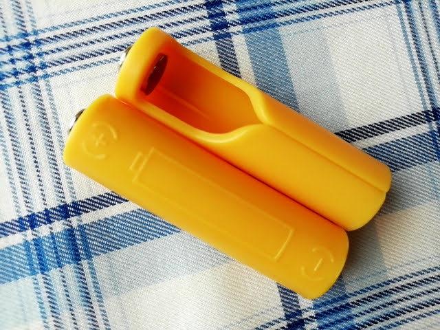 100均セリアで買える単4乾電池を単3サイズにする!電池パック2個入り