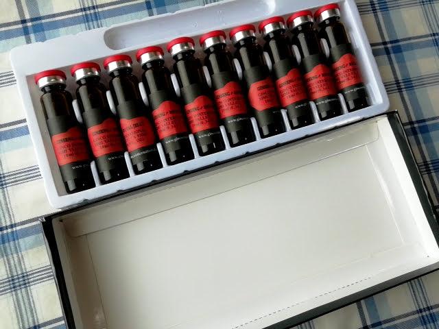 アイハーブの栄養ドリンク Imperial Elixir 朝鮮人参と ローヤルゼリーの箱
