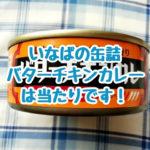いなばのバターチキンカレーの缶詰は手軽で美味しい!チキンゴロゴロで業務スーパーのチャパティで食べたら美味しかったのです。