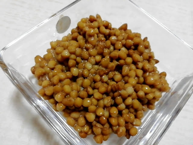 業務スーパーのレンズ豆の缶詰の中身