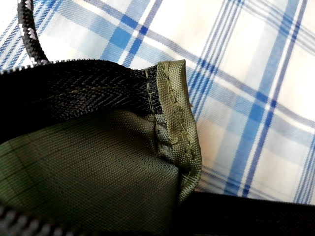100均ダイソーのサコッシュの紐部分の縫製