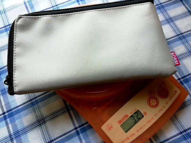 ダイソー100円商品の長財布の重さは32g