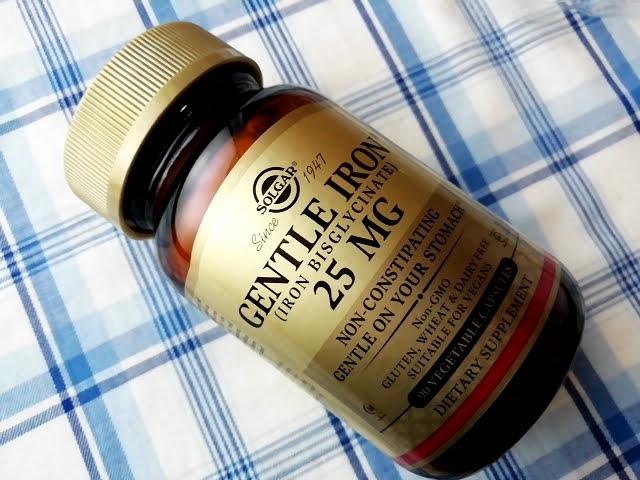 アイハーブのSolgar, ジェントルアイアン、25 mg