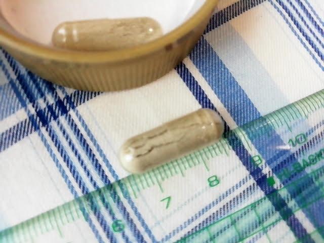 アイハーブのSolgar, ジェントルアイアン、25 mgのカプセルの大きさ