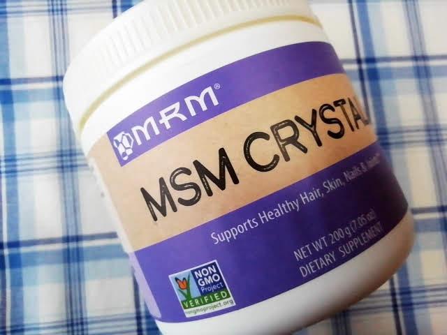 アイハーブのMRMのMSMクリスタル