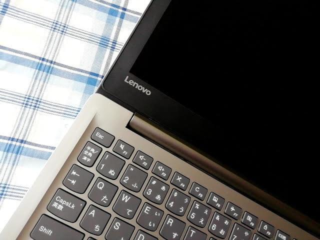 LenovoのS130(11)の日本語キーボードの配列