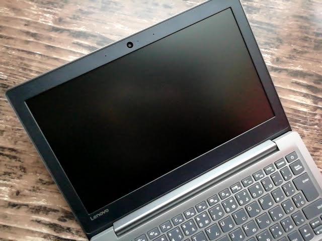 LenovoのIdeapad S130 (11)の画面