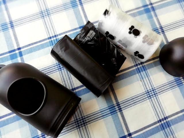 100均ダイソーの犬用お散歩マナー袋とキャンドゥの携帯ゴミ袋