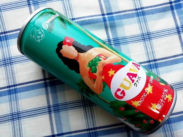 業務スーパーのグァバのジュース