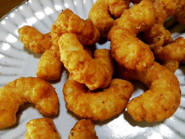 キャラメルコーンのよくばり3種の香ばしナッツ味
