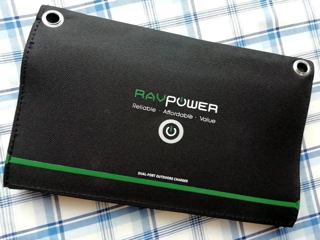 RAVPower ソーラーチャージャー 16W 2ポート RP-PC008