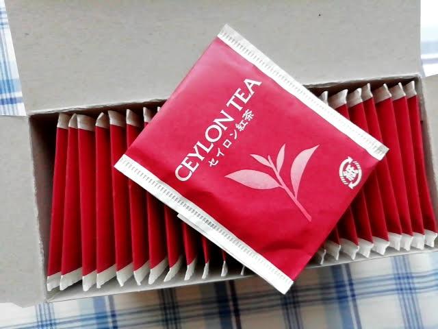 業務スーパーのセイロン紅茶25Pの小袋