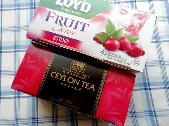 業務スーパーのセイロン紅茶25Pの大きさ