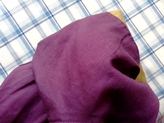 ワークマンのフルジップコットンパーカーの色