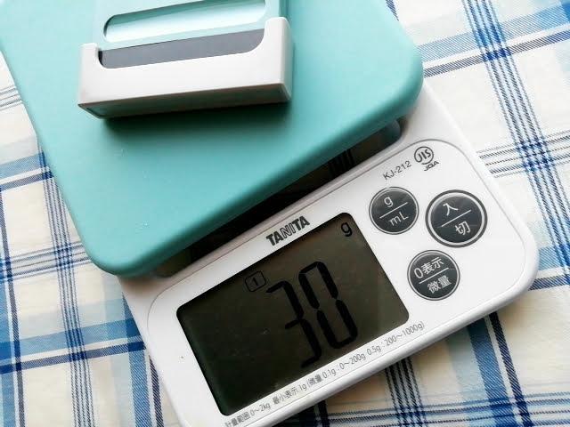 シヤチハタ 一行印 X-stamper 0560号の重さは30g