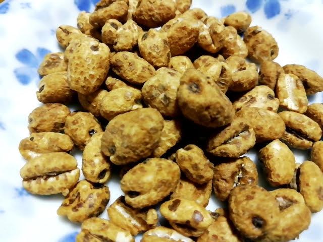 南国製菓のムギムギの色合い