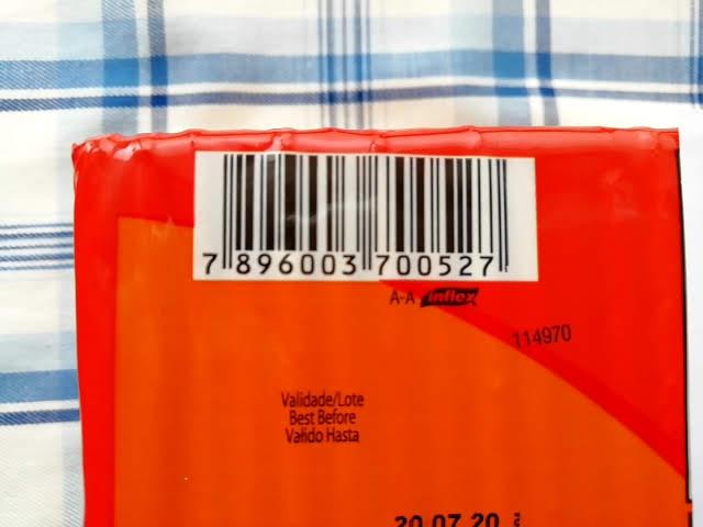 業務スーパーのマリラン クリームクラッカーのバーコード