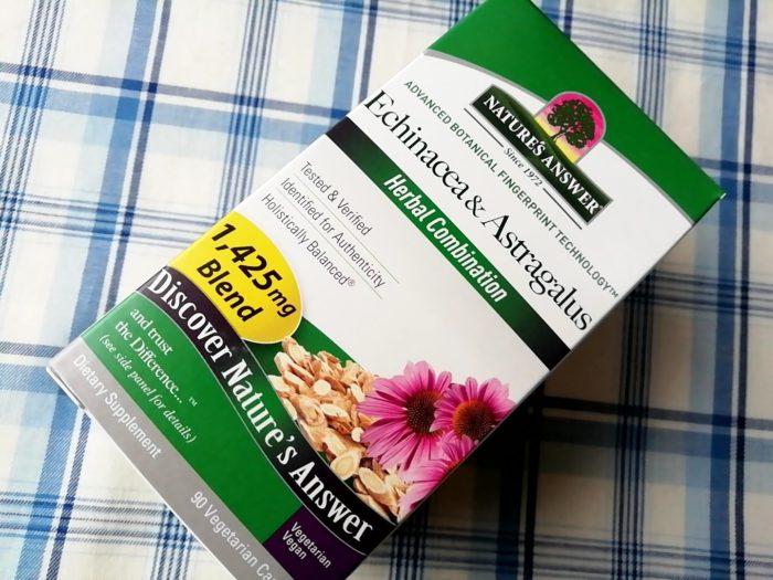 Nature's Answer, エキナセア & アストラガルス、 1425 mg、 90植物性カプセル