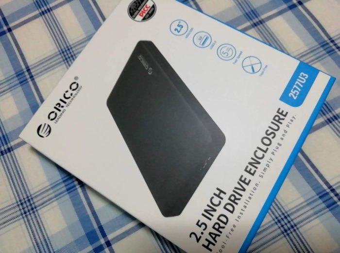 ORICO 2.5インチ HDDケース