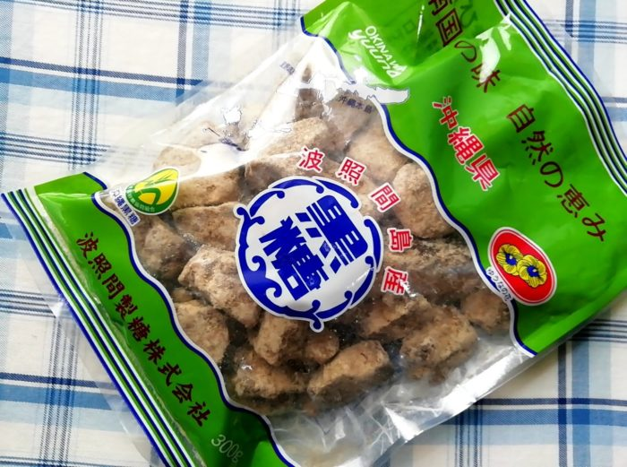ゆうな物産の沖縄の波照間島の純黒糖