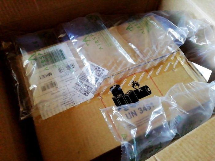 米Amazonから来た荷物の梱包