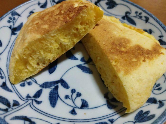 豆腐入りホットケーキ