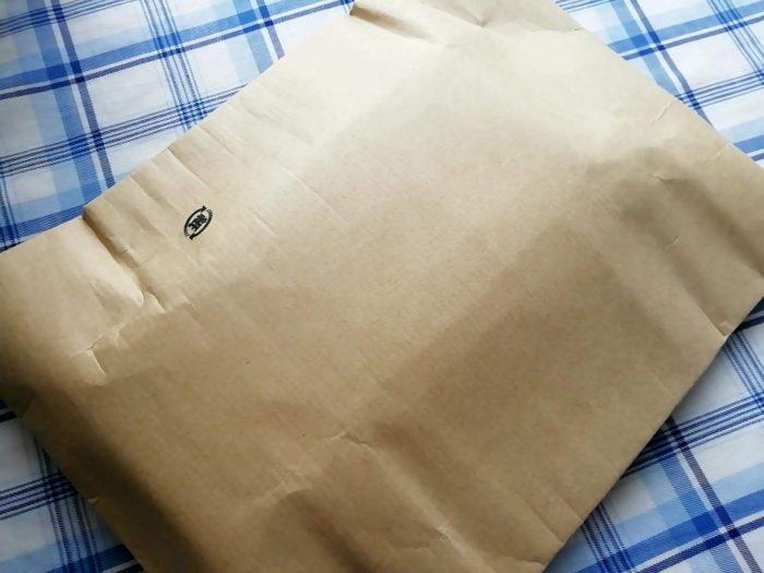 玉初堂のお線香 香樹林 黒箱 小バラ詰 118g入がAmazonから届く
