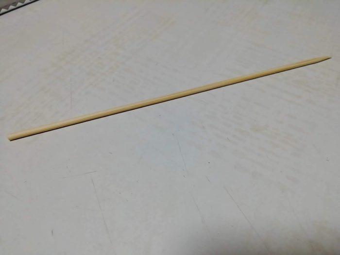 100均ダイソーの竹串 18センチ 150本入